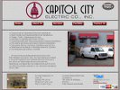 Capitol City Electric website image